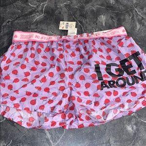 NWT Rare VS Pink boxers XS